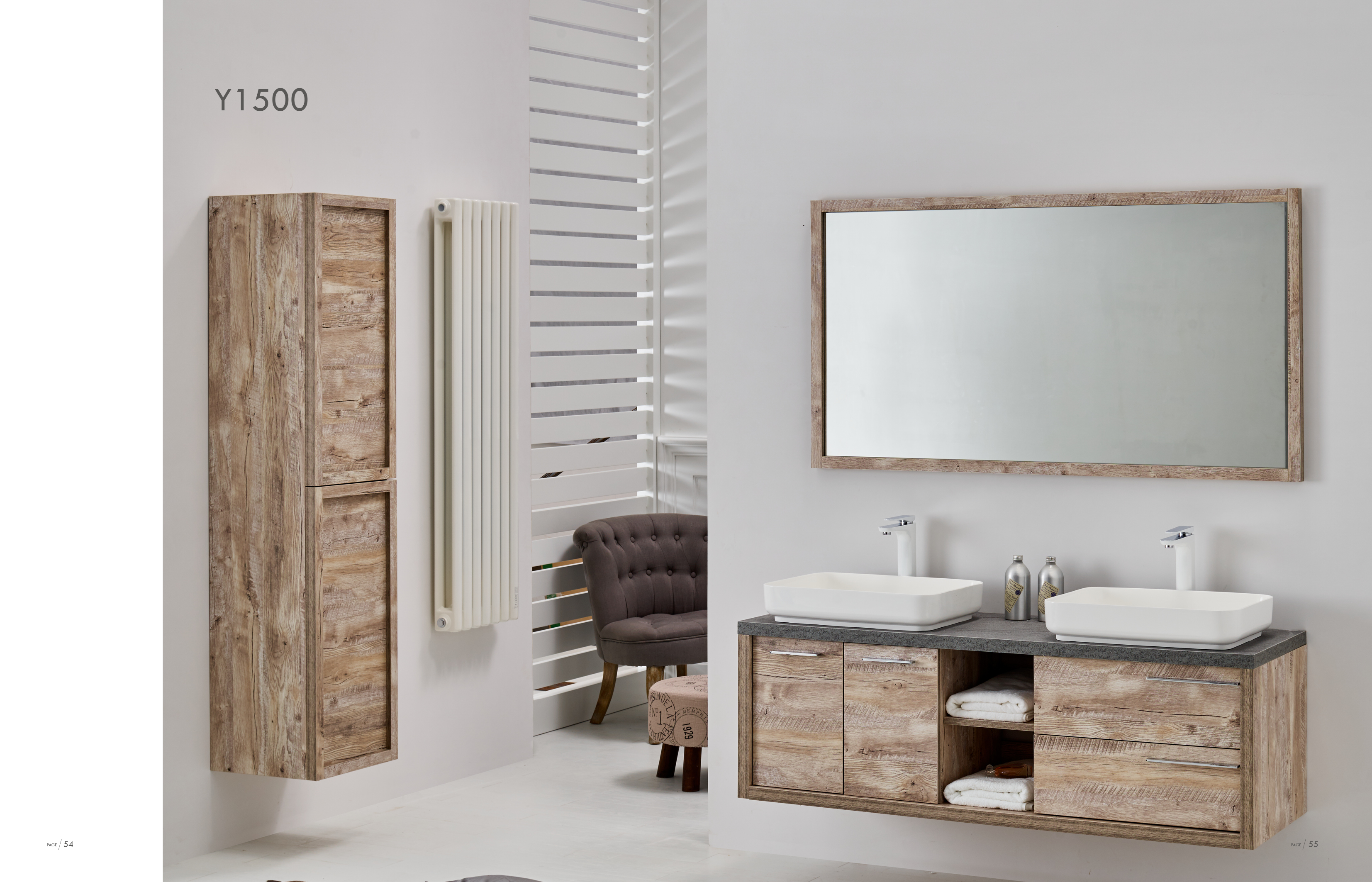 Meuble Salle De Bain Huy ~ meuble y 1500 salle de bain meubles sanit air